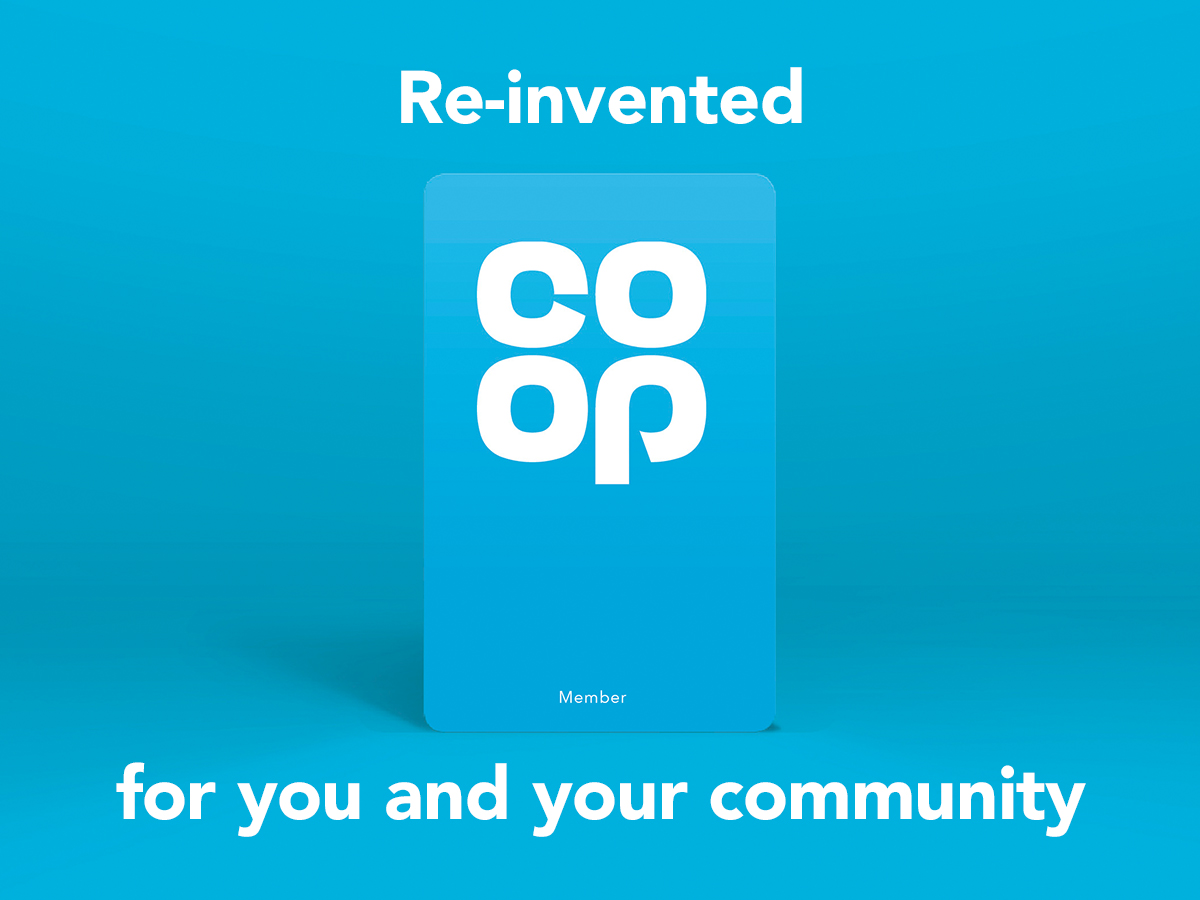 Picture of our new Co-op Membership card.