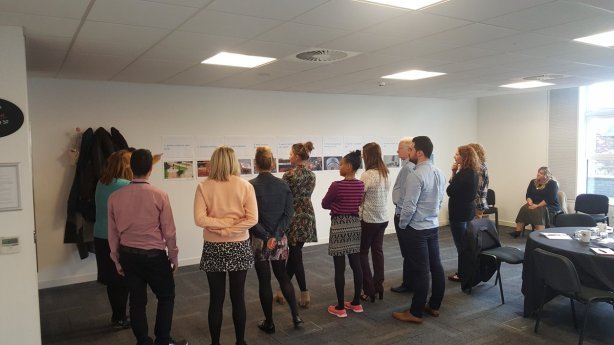 Picture of the second digital masterclass at Co-op