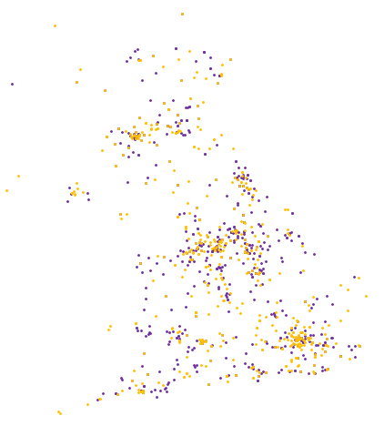 Image showing the spread of local causes being helped by Co-op Members